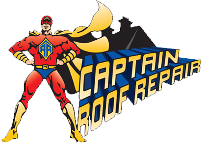 Captain Roof Repair logo